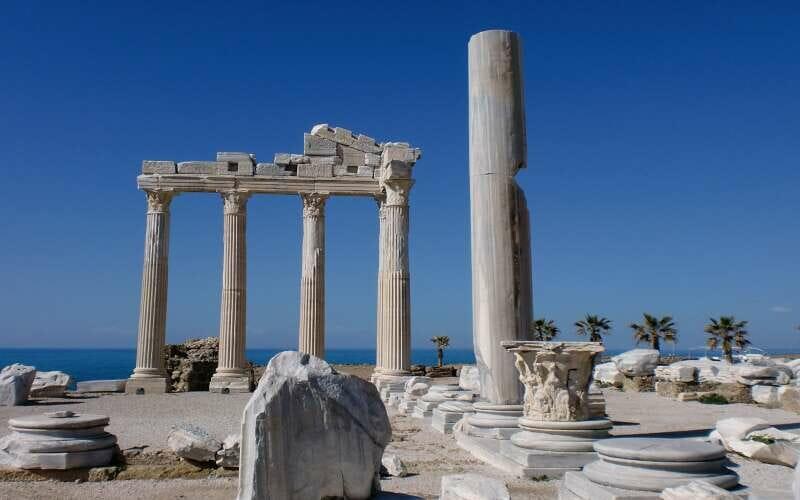 Römische Ruinen in Side